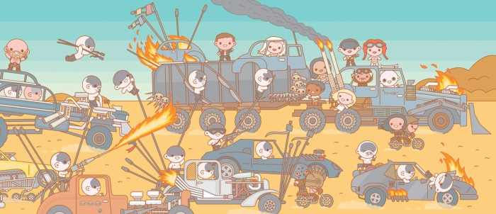 100% Soft - Mad Max: Fury Road