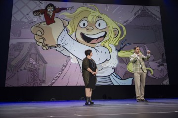 Gigantic at d23 expo