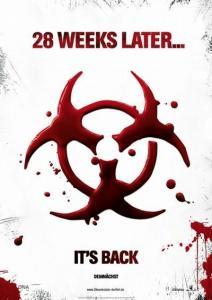 International 28 Weeks Later Movie Poster