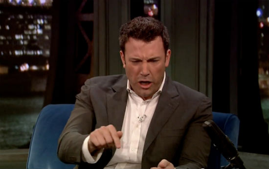 Affleck Late Night