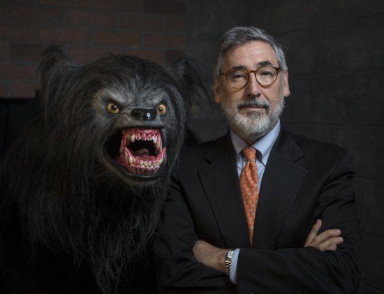John Landis, the critically-acclaimed writer and director of ÒAn American Werewolf in LondonÓ visited Universal OrlandoÕs Halloween Horror Nights 23 on Friday, September 20, 2013 to enjoy the elaborate haunted house that brought his classic horror film to life.