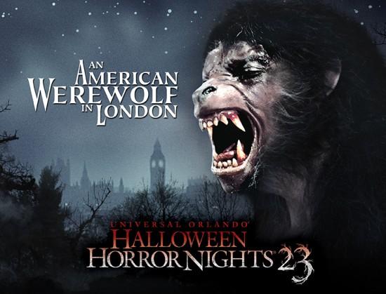 An American Werewolf in London at HHN 23 - LR