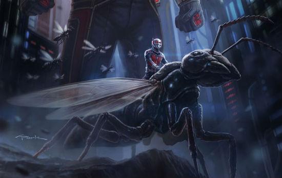 Ant-Man Comic Con header