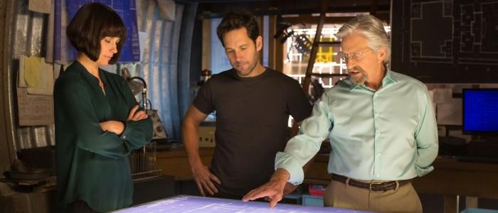 Ant-Man - Hope Scott and Hank