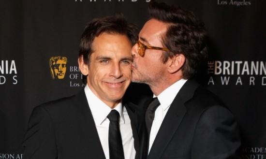Ben Stiller and Robert Downey Jr