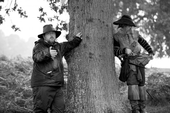 Ben Wheatley directing A Field in England