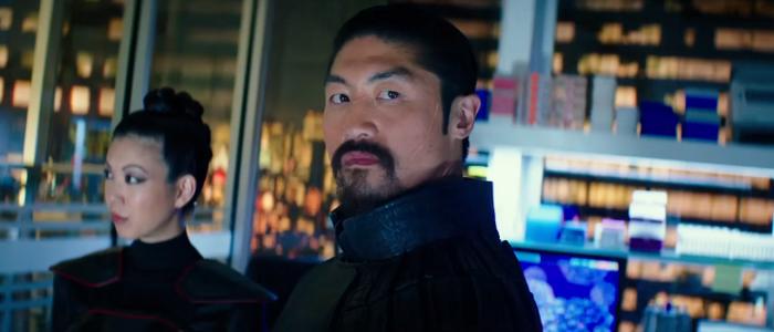 Brian Tee as Shredder in Teenage Mutant Ninja Turtles Out of the Shadows