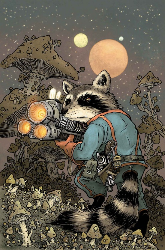 DAVID PETERSON Rocket Raccoon