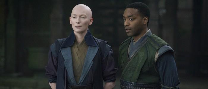 Doctor Strange - The Ancient One (Tilda Swinton) and Mordo (Chiwetel Ejiofor)
