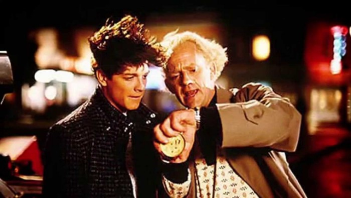 Eric Stoltz Back to the Future footage