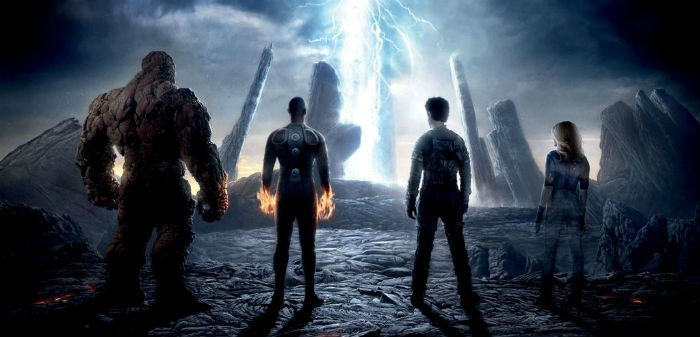 Fantastic Four poster header - Fox CinemaCon 2015