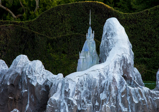 Frozen Ice Palace Disneyland