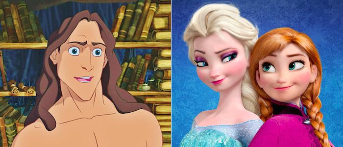 Frozen Tarzan theory