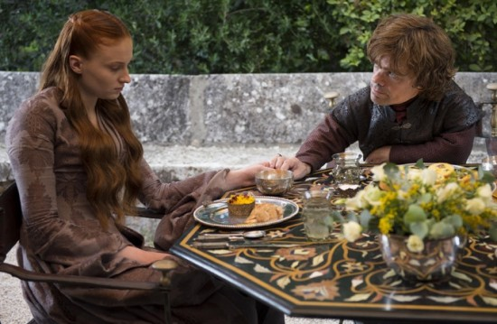 Game of Thrones Season 4 - Sansa and Tyrion (header)