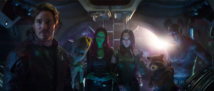 Guardians of the Galaxy Song in Infinity War
