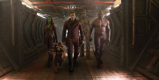 Guardians of the Galaxy team