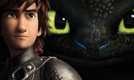 How to Train Your Dragon 2 poster header