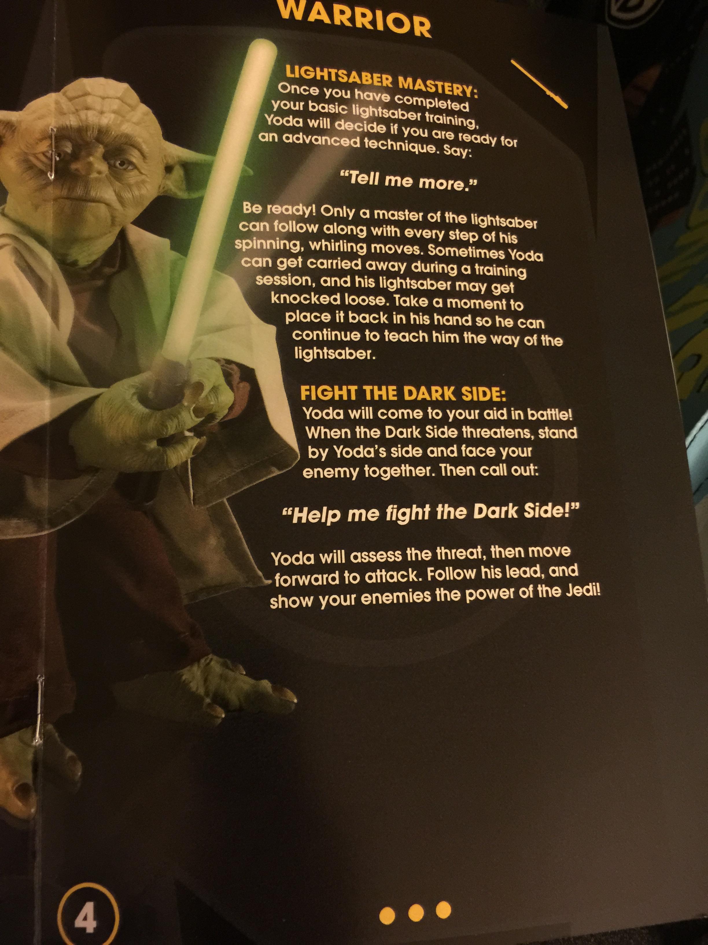 master yoda lightsaber