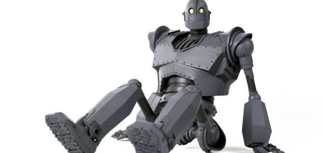 brad bird Iron Giant Mondo Toy 2