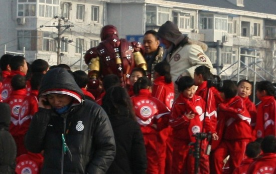 Iron Man 3 China