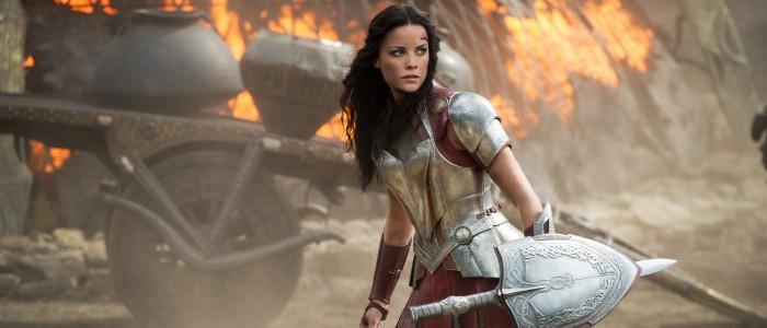 Jaimie Alexander as Sif in Thor The Dark World