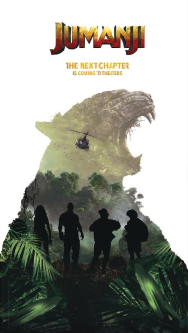 Jumanji sequel poster