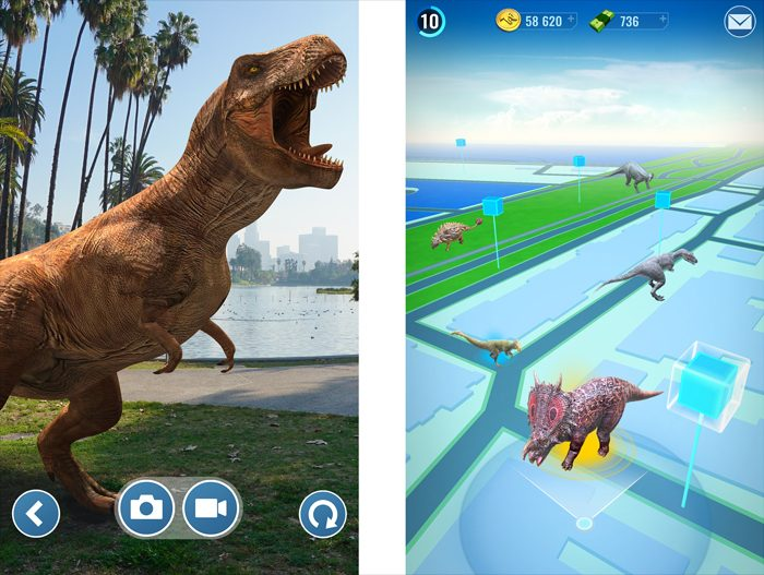A Jurassic World Version Of Pokemon GO Is Coming To Your Phone