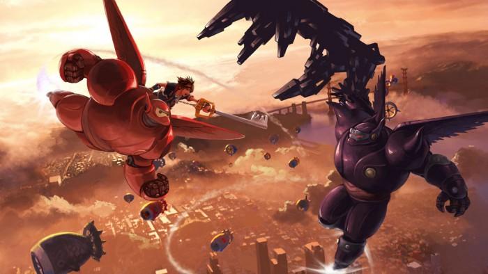 Kingdom Hearts 3 Big Hero 6