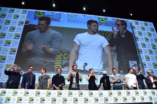 Marvel Comic Con Hall H