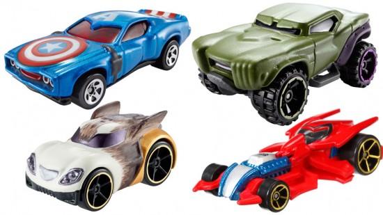 Marvel Hot Wheels