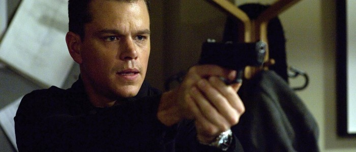 Matt Damon in Bourne