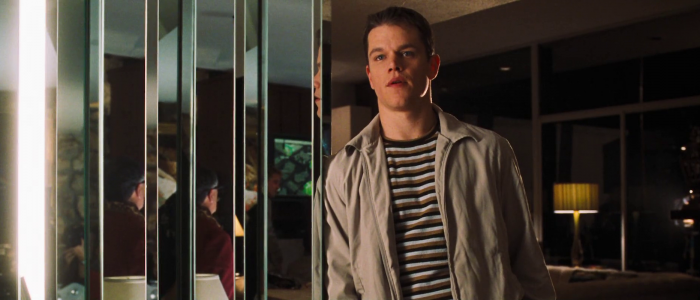 Matt Damon in Ocean's Eleven