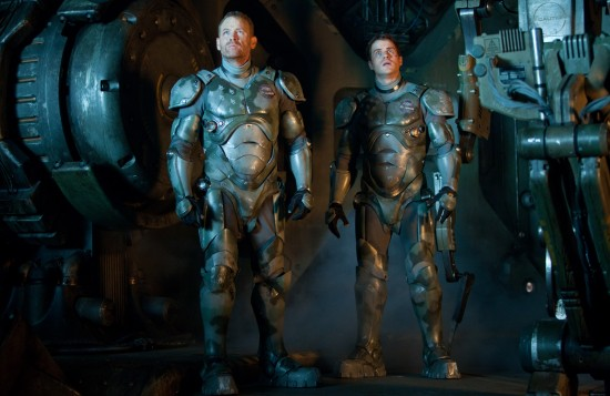 Max Martini and Robert Kazinsky in Pacific Rim
