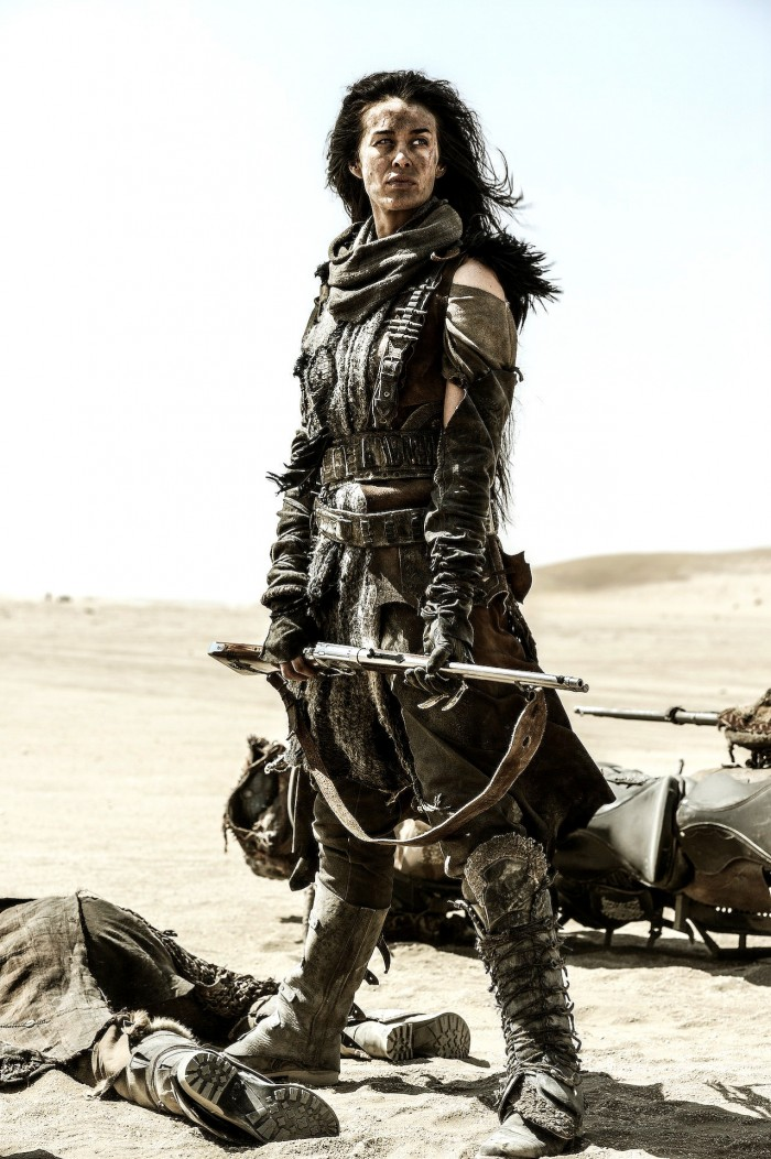 Megan Gale as Valkyrie in Mad Max Fury Road