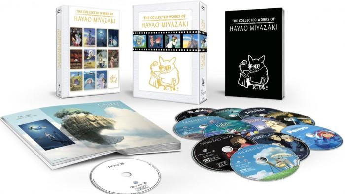 The Collected Works of Hayao Miyazaki Blu-Ray