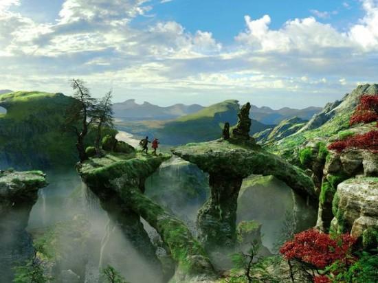[Disney] Le Monde Fantastique d'Oz (13 mars 2013) - Page 4 Oz-Great-and-Powerful-bridge-550x412