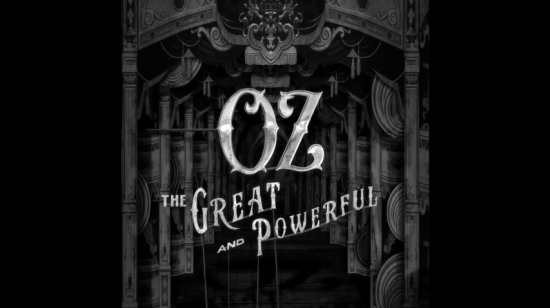 Oz The Great and Powerful opening sequence