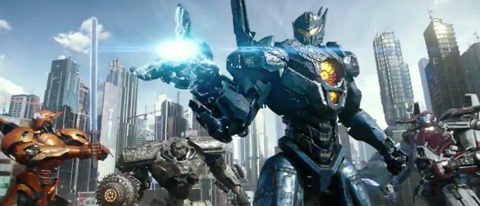 Pacific Rim Uprising TV spot Jaegers