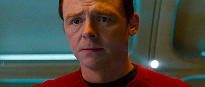 Quentin Tarantino Star Trek Movie Simon Pegg