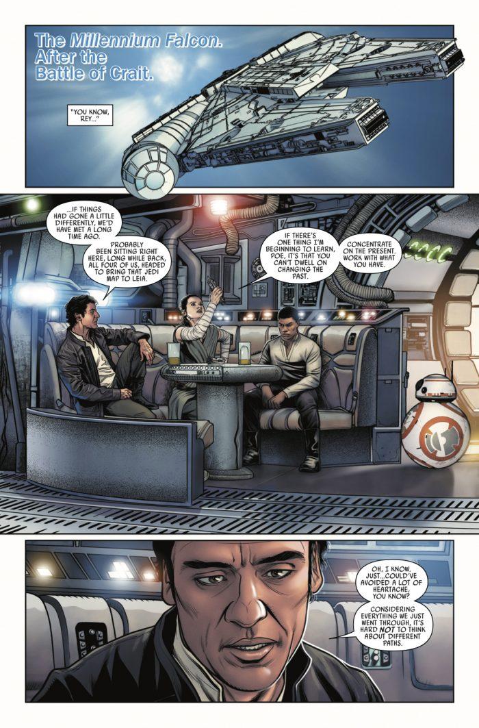 Star Wars Poe Dameron comic