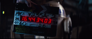 Star Wars: The Force Awakens r2d2 slate