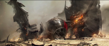 Star Wars: The Force Awakens x-wing concept art