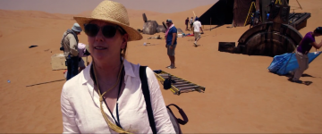 Star Wars: The Force Awakens Kathleen kennedy