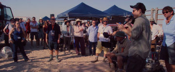 Star Wars: The Force Awakens: jj abrams on first day of shooting