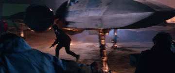 Star Wars: The Force Awakens: finn x-wing