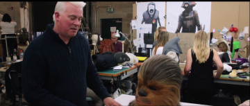 Star Wars: The Force Awakens alien creature shop