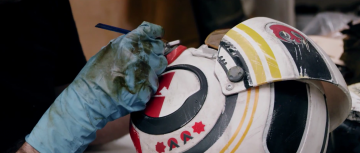 Star Wars: The Force Awakens costume shop