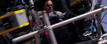 Star Wars: The Force Awakens: daisy ridley in millennium falcon