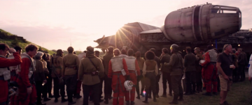 Star Wars: The Force Awakens: millennium falcon