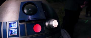 Star Wars: The Force Awakens: r2-d2